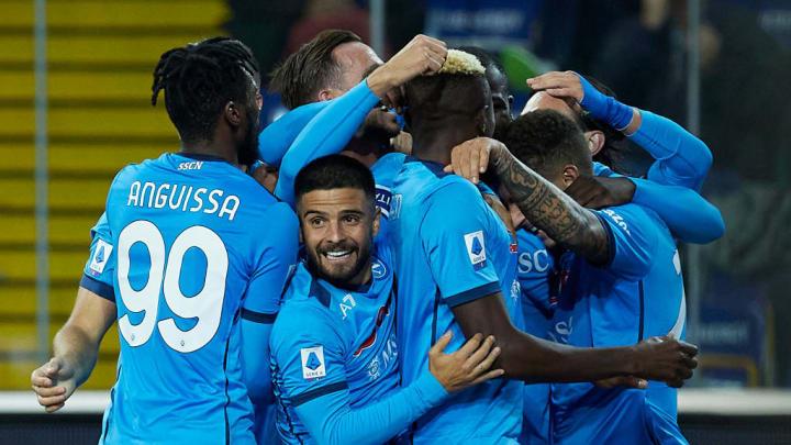 Kalidou Koulibaly Victor Osimhen Lorenzo Insigne Série A Napoli Sampdoria