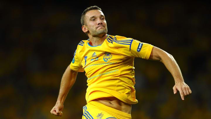 Andriy Shevchenko Milan Dínamo de Kiev Ucrânia
