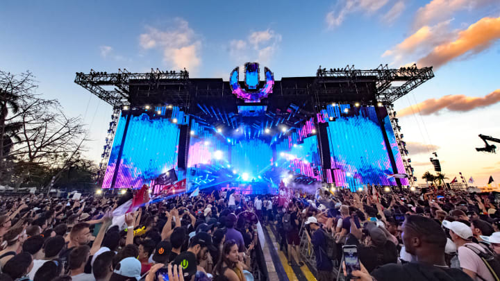 El Ultra Music Festival es un gran evento de música electrónica