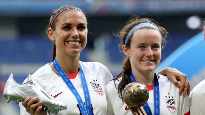 Alex Morgan, Rose Lavelle
