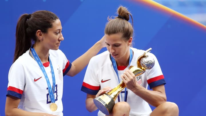 Christen Press has joined US teammate Heath at Manchester United