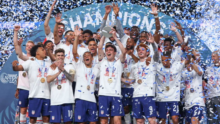 The USA won the CONCACAF Nations League