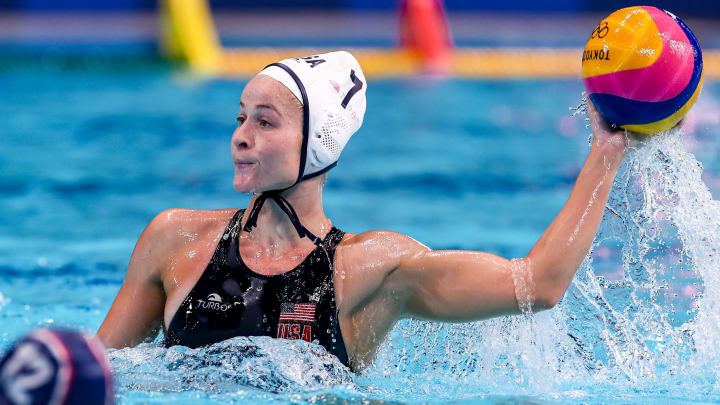 Canada vs USA prediction, odds, betting lines & spread for women's Olympic water polo game on Tuesday, August 3.