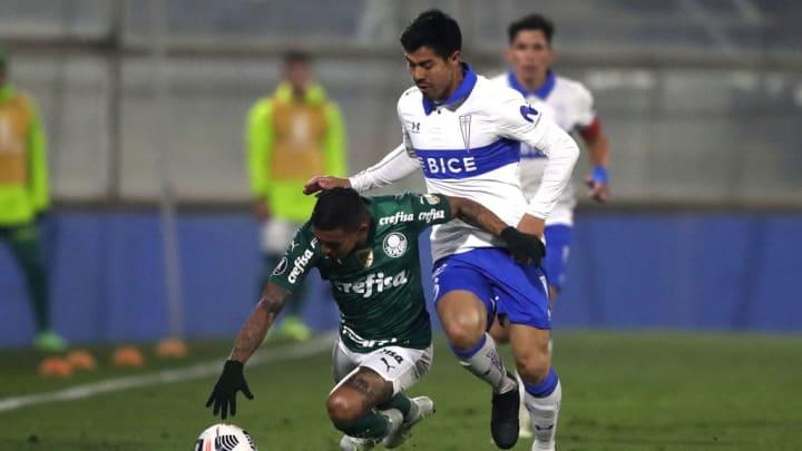 Francisco Silva, Dudu Palmeiras Universidad Catolica Libertadores