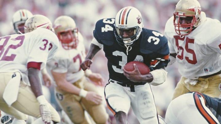 The greatest football players in Auburn history include 1985 Heisman winner Bo Jackson.