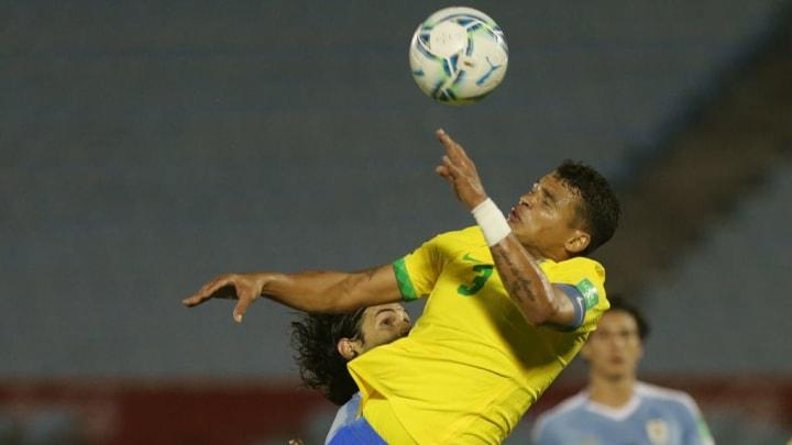 Edinson Cavani, Thiago Silva