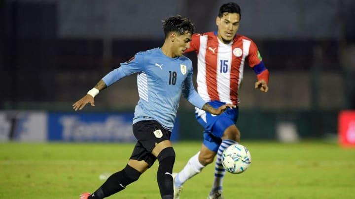 Facundo Torres, Gustavo Gómez Paraguai Eliminatórias Copa América