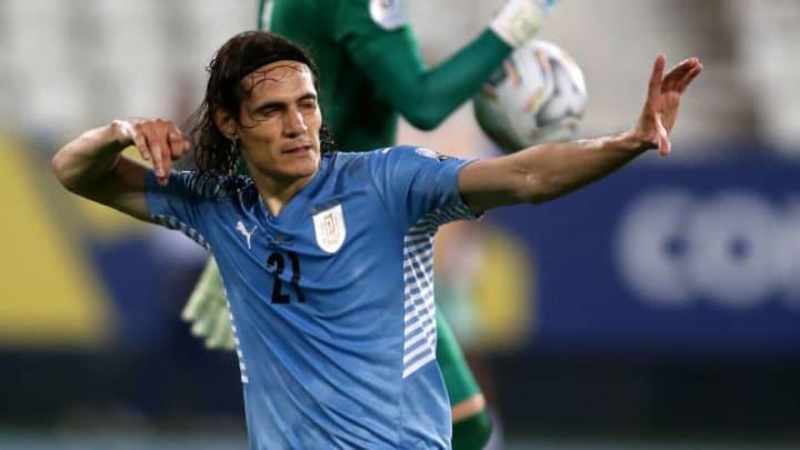 Edinson Cavani Uruguai Colômbia Copa América Palpites