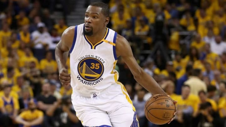 Kevin Durant on the Golden State Warriors