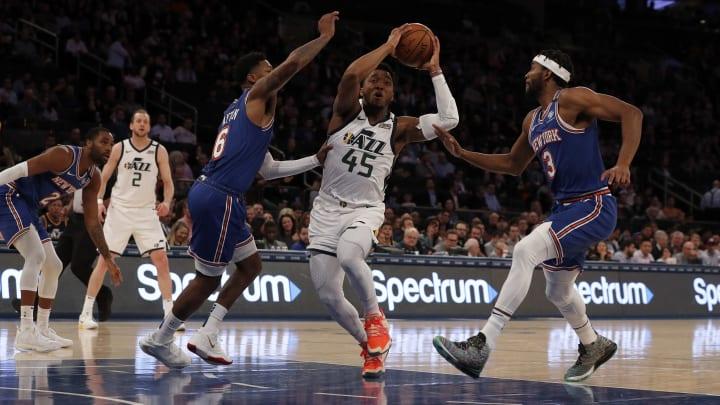 Knicks y Jazz chocan en el cierre de la jornada de este martes