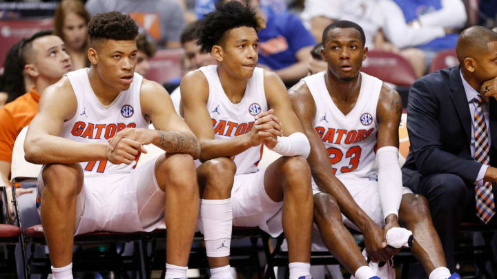 Keyontae Johnson, Tre Mann, Scottie Lewis