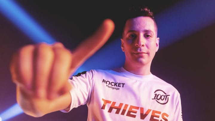 """Joshua """"steel"""" Nissan has reportedly been cut from 100 Thieves' Valorant roster."""