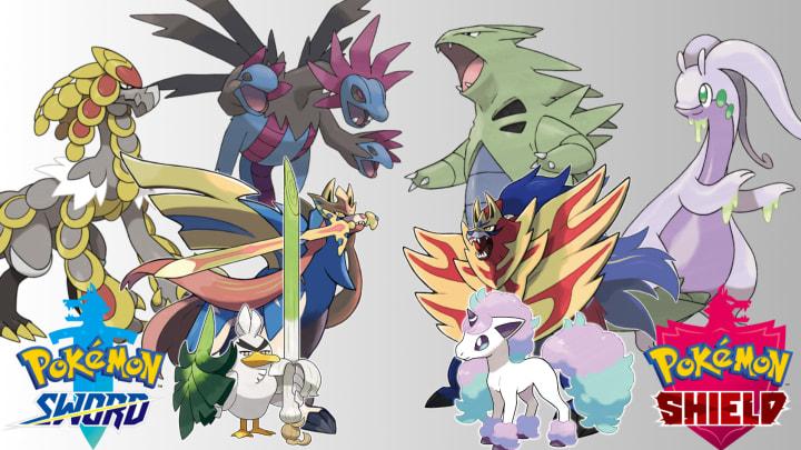 Pokemon Sword And Shield Exclusives New Galarian Exclusive Pokemon