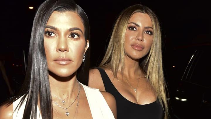 Kourtney Kardashian is no longer following Larsa Pippen on Instagram.