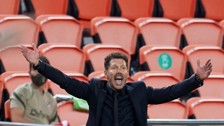 Diego Simeone kommt auch ohne Zuschauer zurecht