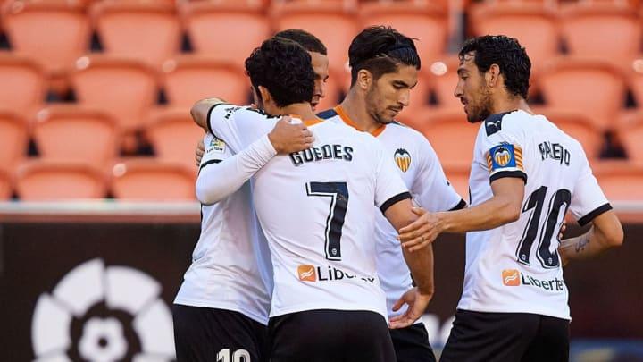 Rodrigo Moreno, Goncalo Guedes, Dani Parejo, Carlos Soler