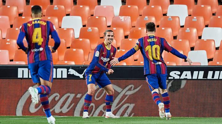 Antoine Griezmann Lionel Messi Coutinho Barcelona Bayern de Munique