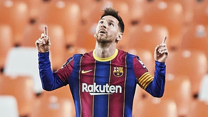 Messi a inscrit ses 25e et 26e buts contre Valence ce dimanche soir