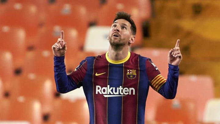 Messi liderou virada do Barcelona contra o Valencia