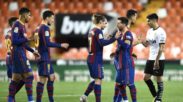 Le FC Barcelone s'est imposé 3-2 sur le terrain de Valence