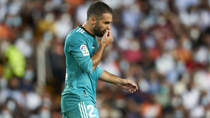 Dani Carvajal has suffered another injury