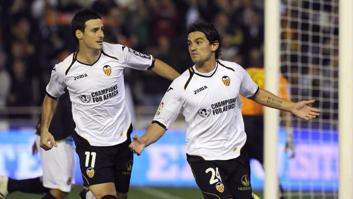 Valencia's Argentinian midfielder Albert