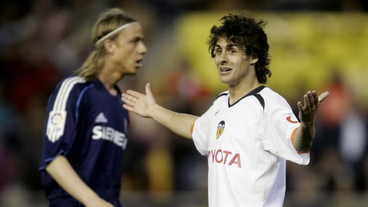 Valencia's Argentinian player Pablo Aima