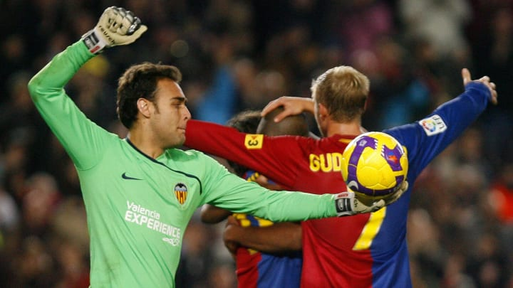 Valencia's goalkeeper Renan Brito Soares