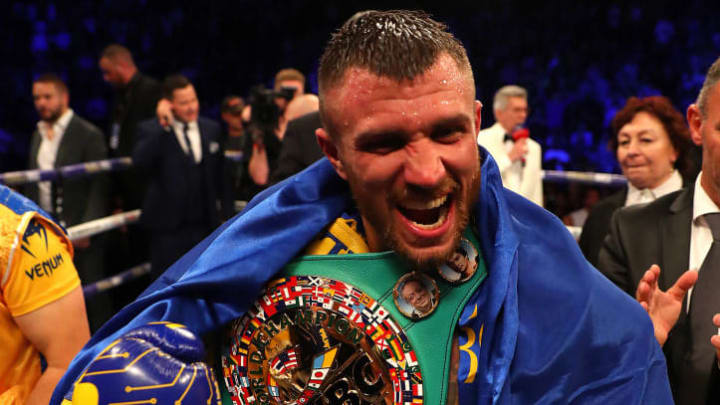 Vasyl Lomachenko owns the 135-pound division and is The Ring magazine's pound-for-pound No. 1.
