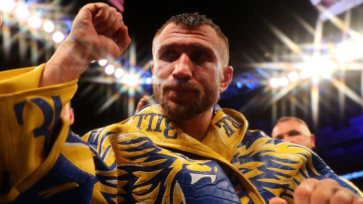 Vasiliy Lomachenko vs Teofimo Lopez Jr. Top Rank boxing odds, fight info and betting insights.