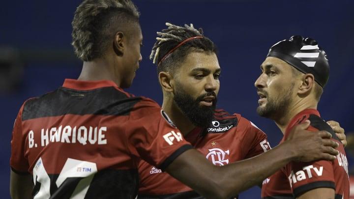 Flamengo venceu o Vélez Sarsfield de virada