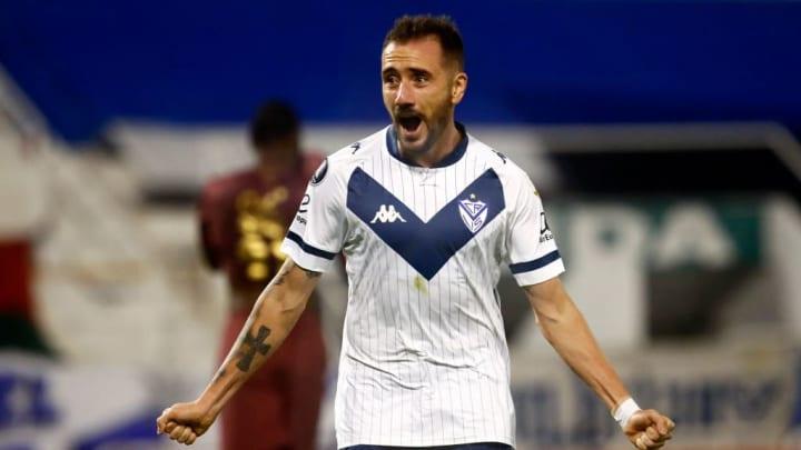 Federico Mancuello Vélez Sarsfield Libertadores Barcelona de Guayaquil Libertadores