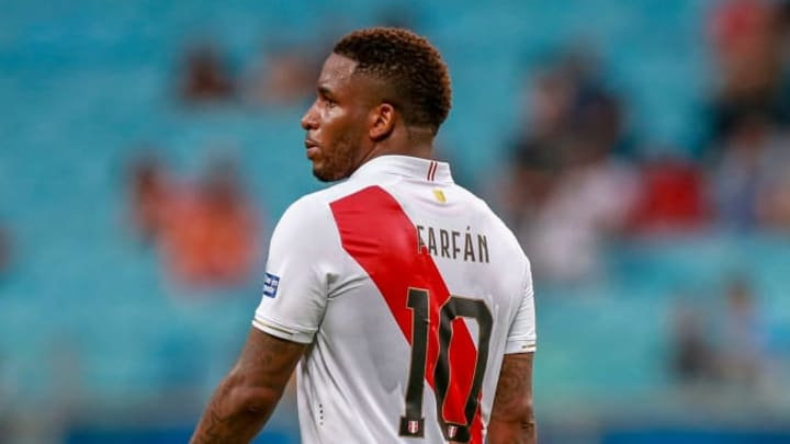Farfan is a legend in his native Peru