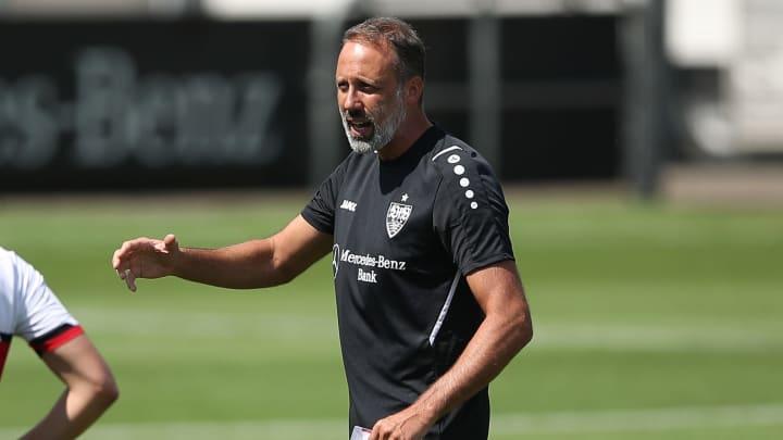 Pellegrino Matarazzo testet mit seinem VfB gegen die Lilien
