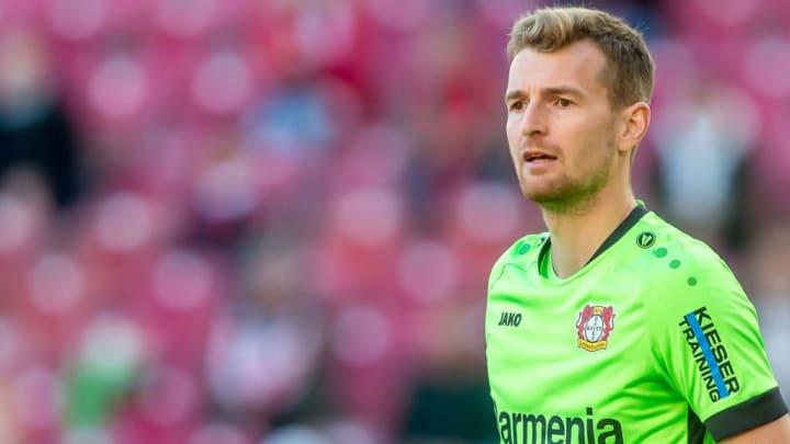 Lukas Hradecky est le portier du Bayer Leverkusen.