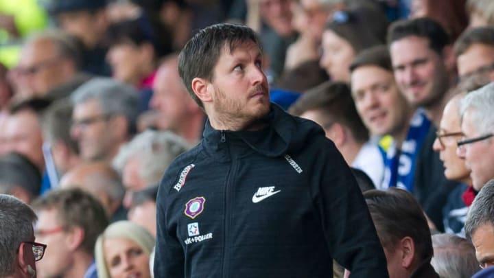 trainierte Erzgebirge Aue in der 2. Bundesliga - Hannes Drews