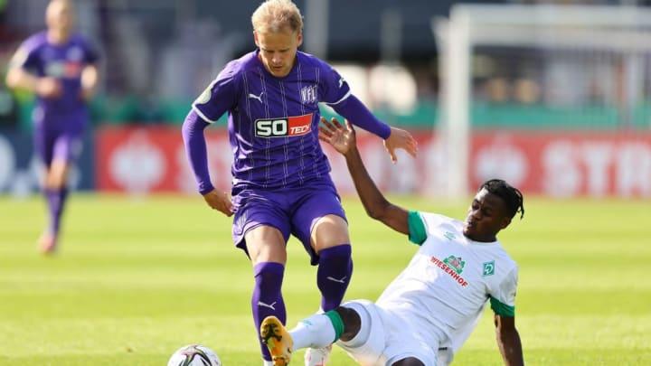 Abdenego Nankishi könnte bei Werder noch groß aufspielen