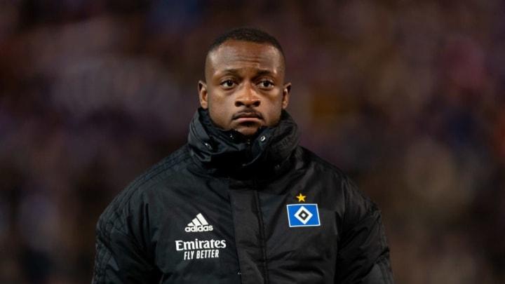 Kam beim HSV nicht ansatzweise an seine Kieler Leistungen heran: David Kinsombi