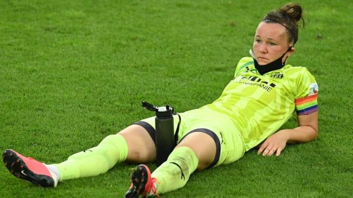 Marina Hegering verlor mit Essen zuletzt das Pokalfinale gegen Wolfsburg
