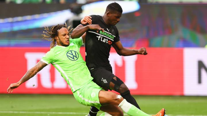 Breel Embolo war gegen Wolfsburg kaum zu stoppen