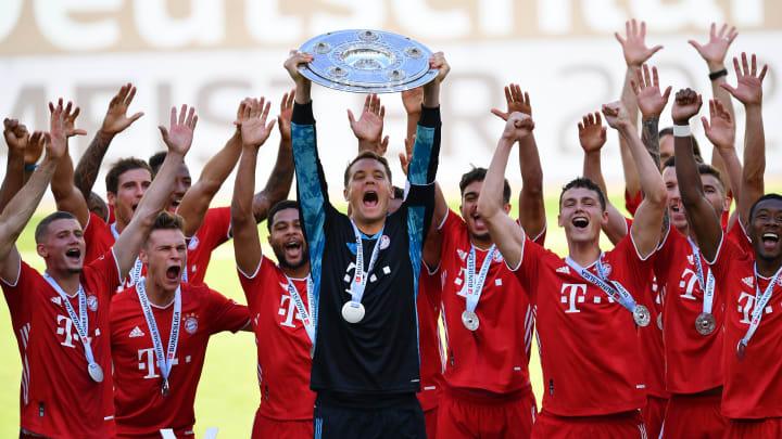 Der FC Bayern feierte in der letzten Saison seine 30. deutsche Meisterschaft