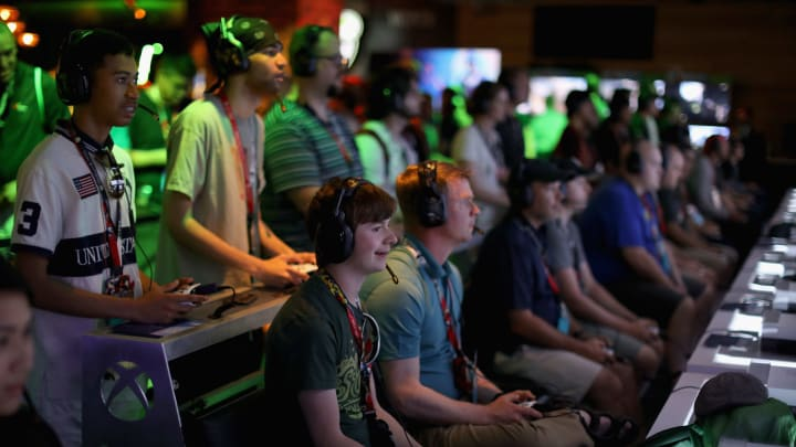 Video Game Manufacturers Show Off Their Latest Products At Annual E3 Conference