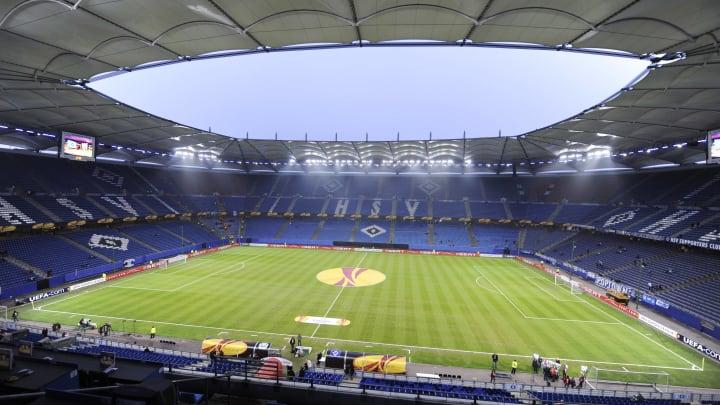 Schon bald wenigstens wieder zu einem Drittel gefüllt: Das Hamburger Volksparkstadion