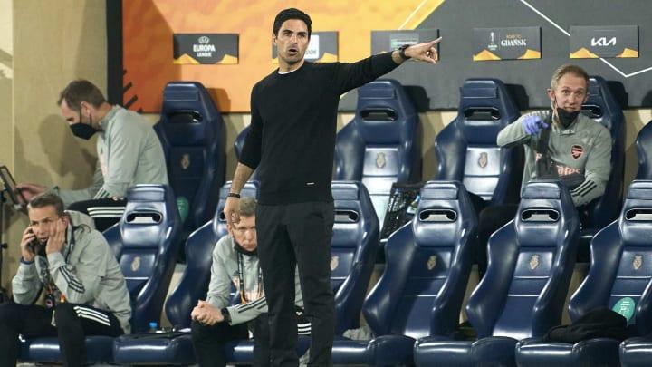 Mikel Arteta's Arsenal trail Villarreal from the first leg
