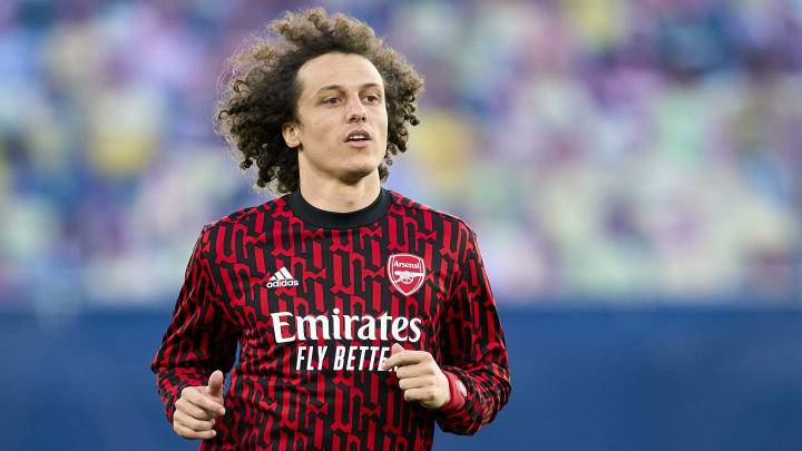 David Luiz is battling a hamstring injury