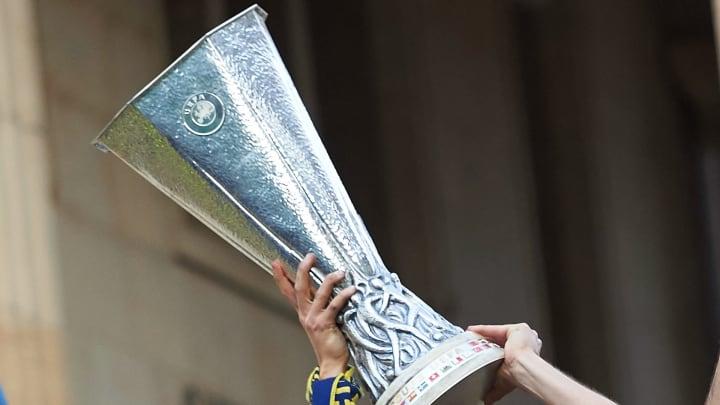 Die Europa-League-Trophäe