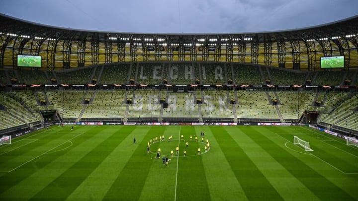 Gdansk Arena Liga Europa Villarreal Manchester United