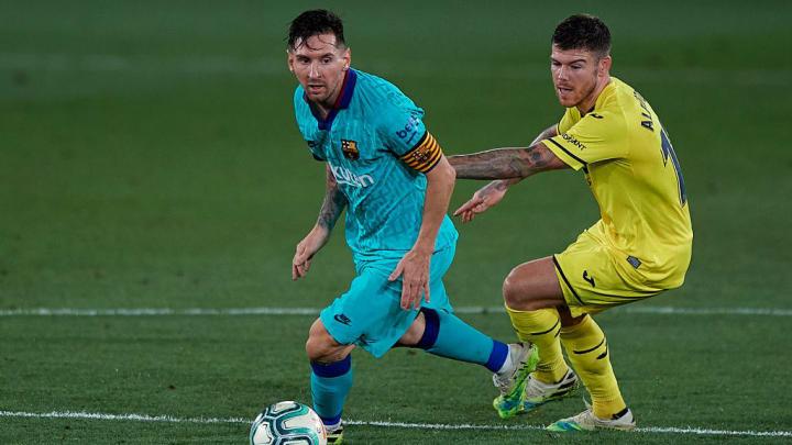 Alberto Moreno, Lionel Messi