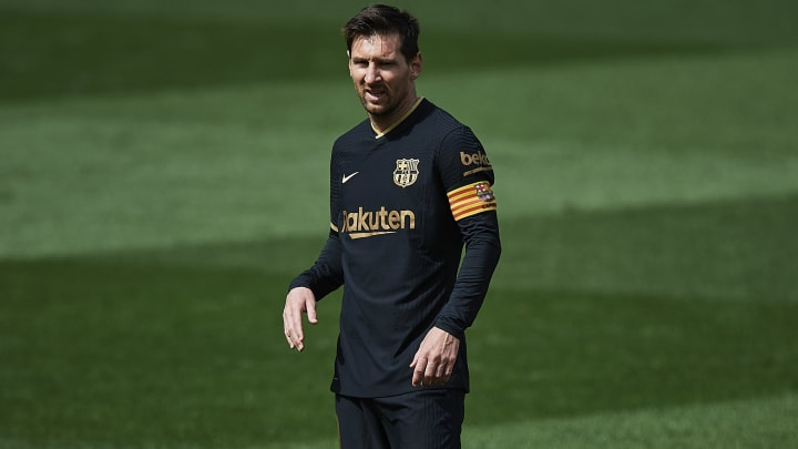 Barcelona are working to secure Lionel Messi's future