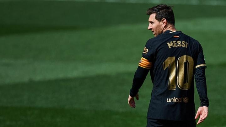 Lionel Messi Barcelona LaLiga